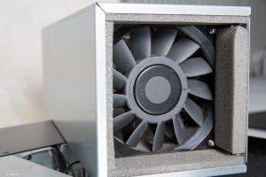 VIST AcoustiRACK. Вентилятор модуля вентиляции и шумогашения Silentium ActiveSilencer Fan Tray (ASFT).