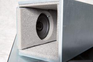 VIST AcoustiRACK. Динамик модуля вентиляции и шумогашения Silentium ActiveSilencer Fan Tray (ASFT).