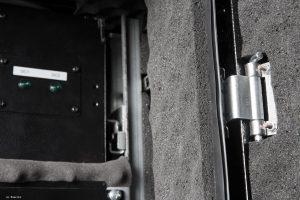 VIST AcoustiRACK. Индикация питания верхнего модуля вентиляции с системой активного шумогашения Silentium ActiveSilencer Fan Tray (ASFT).