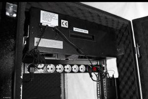 VIST AcoustiRACK. Верхний модуль вентиляции с системой активного шумогашения Silentium ActiveSilencer Fan Tray (ASFT).